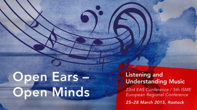 EAS2015: Open Ears – Open Minds: Listening and Understanding Music